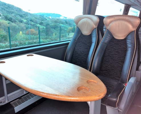 ¿Cuáles son los asientos más seguros en los autobuses?