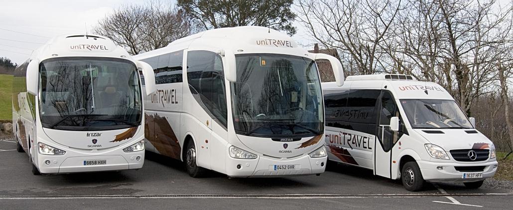 Flotte d'autobus Unitravel