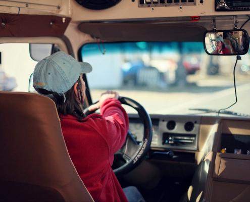 mujeres conductoras de autobus